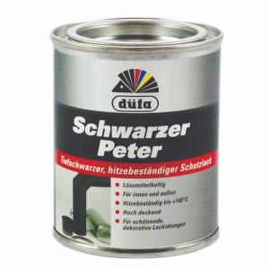 Schwarzer Peter – Fekete Péter dekoratív mázoláshoz