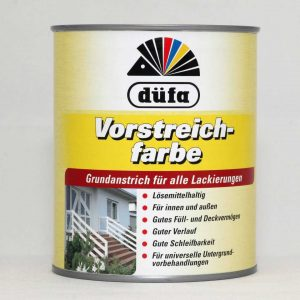 Vorstreichfarbe – Alapozó festék